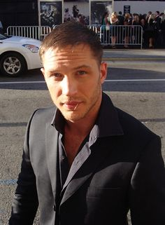 Tom Hardy-- I would drink this man's bath water, even if he still looked like Bane. NOT REALLY, IM NOT INSANE, but wow what a great actor and dam good to look at!