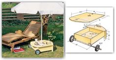 DIY Patio Umbrella Stand - Outdoor Plans and Projects | WoodArchivist.com