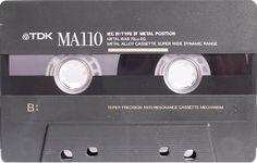Cassette audio TDK MA110 Metal - www.remix-numeris... - Rendez vos souvenirs durables ! - Sauvegarde audio - Transfert audio - Copie audio - Digitalisation cassette - Restauration de bande magnétique Audio - Cassette Audio - Minicassette - Musicassette - Compact cassette - Elcaset - Magnétocassette - K7