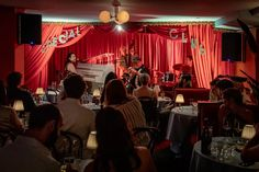 Special Club, a Bar and Music Club, Opens in Soho Underneath Niche Niche - Eater NY Cabaret Musical, Live Music Bar, Harlem Nights, Farmhouse Pendant Lighting, Live Jazz, Bed Stuy, Jazz Club, Stage Lighting, Restaurant Bar