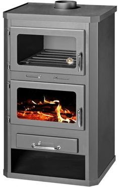wood burning Cooker Stove with back boiler Lotus B