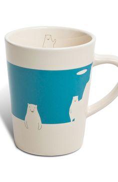 Polar bear mug / i want this!!