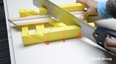 You don't need power tools to make DIY picture frames. You can make DIY picture frames with a miter box, stapler, and picture frame molding. Rustic Picture Frames, Picture Frame Molding, Picture On Wood, Wood Baseboard, Baseboard Styles, How To Install Baseboards, Natural Wood Table, Moldings And Trim, Moulding