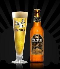 Cerveja Berlina Munich Bier, estilo Munich Helles, produzida por Berlina, Argentina. 4.8% ABV de álcool.