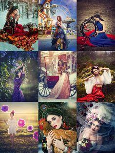 Incredible fantasy photographs come to life by amazing Russian photographer Margarita Kareva.
