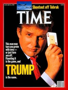 1980's  images | TIME Magazine Cover: Donald Trump - Jan. 16, 1989 - Real Estate ...