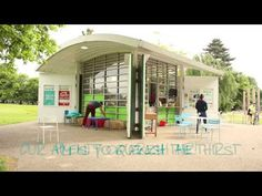 Kiosk at The Park - a charming little film about a charming little cafe in Russell Park, Bedford.