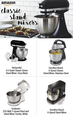 How do you bake? Find something for all your mixing needs.