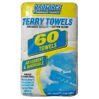 ProForce Terry Towels - Cotton Blend - 60 ct. - Sam's Club