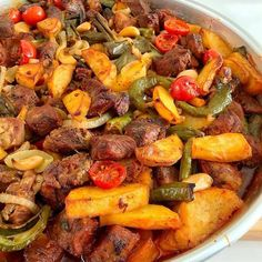 Lyrics of the Artists You Like Iftar, Kaya, Pot Roast, Paella, Vegetable Pizza, Sausage, Meals, Cooking, Ethnic Recipes