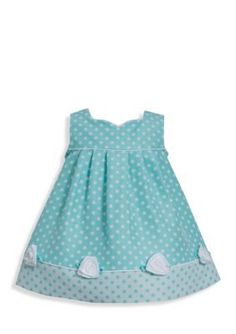 Bonnie Jean  Jacquard Dot Dress  Coat Set