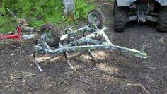 Homemade Chisel Plow For Atv Pinterest