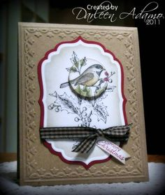 2011 Christmas Card Redux by darleenstamps - Cards and Paper Crafts at Splitcoaststampers