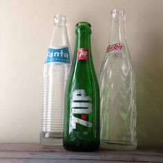 Instant Collection of Vintage Pop Bottles on Etsy, $9.00