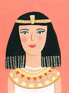 Art Festival, Cleopatra, Art Blog, Disney Characters, Fictional Characters, Original Art, Illustration Art, Aurora Sleeping Beauty, Gallery Wall