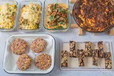 Gratin de pâtes au thon et brocoli Batch Cooking, Fried Rice, Cookies Et Biscuits, Meal Planning, Lunch Box, Veggies, Appetizers, Healthy, Ethnic Recipes