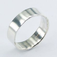 From $19.95aus to $21.95aus With FREE SHIPPING WORLD WIDE.. SAVE THIS PIN OR BUY NOW FROM LINK HERE  http://www.ebay.com.au/itm/Mens-silver-ring-plain-band-925-round-concaved-size-6us-12us-6mm-wide-men-new-/171915376394?ssPageName=STRK:MESE:IT