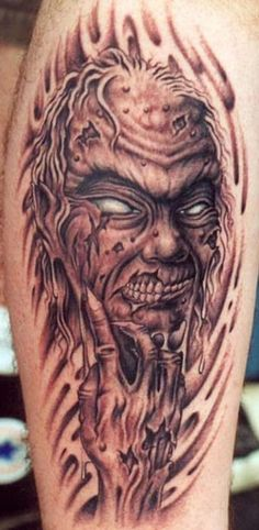 Horror Devil Demon Tattoo