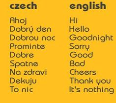 International Education Week: Czech it Out: Czech Language and Culture Education Week, Prague Travel, Czech Recipes, Prague Czech Republic, Thinking Day, Different Words, My Heritage, Study Abroad, Family History