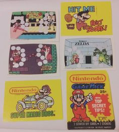 On instagram by t.d.g.a.f #retrogaming #microhobbit (o) http://ift.tt/2bD9Sic cards for the win! Got them with the  #supermario #supermario2 #supermariobros #legendofzelda #doubledragon #tradingcards  #collectibles #videogames #nintendo #supernintendo #atari #atari2600