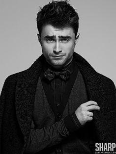 Daniel Radcliffe Dons Dapper Styles for Sharp  image daniel radcliffe 0001