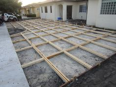 Best Way To Build A Concrete Driveway With Grass Inserts