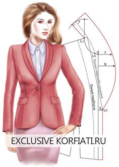 Amazing Sewing Patterns Clone Your Clothes Ideas. Enchanting Sewing Patterns Clone Your Clothes Ideas. Blazer Pattern, Collar Pattern, Jacket Pattern, Coat Patterns, Dress Sewing Patterns, Clothing Patterns, Fabric Sewing, Skirt Patterns, Blouse Patterns