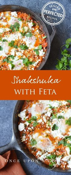 Shakshuka #Shakshuka #feta #breakfastrecipes