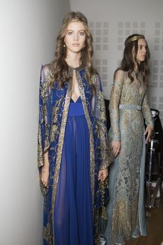 Elie Saab Fall 2017 Couture Fashion Show Backstage, Runway, Couture Collections at TheImpression.com - Fashion news, street style, models, backstage