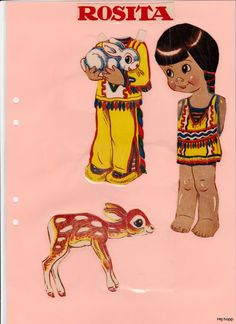 Övriga 26 | Maggans nostalgiska klippdockor *1500 free paper dolls for Christmas at artist Arielle Gabriels The International Paper Doll Society and also free Asian paper dolls at The China Adventures of Arielle Gabriel *