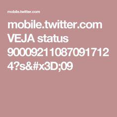 mobile.twitter.com VEJA status 900092110870917124?s=09