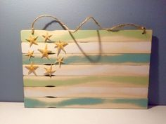 Hey, I found this really awesome Etsy listing at https://www.etsy.com/listing/449348996/beachy-weathered-paint-stick-flag