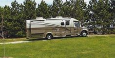 """2009 Used Dynamax Corp Dynaquest 300st Class C in Michigan MI.Recreational Vehicle, rv, LATE 2009 Dynamax Corp Dynaquest 300st turbo diesel, TOURING CRUISER/ , GETTING 12-14 MPG, torque =660 ft lbs at 1200rpm, EXT HGTH is 11'4"""" , duo slides ds front/ps rear, 250 hp Mercedes benz, freightliner m2 chasis,(steel safety cage cab ), 6590 miles, dual 40 gal fuel tanks (80 gal), Allison 6spd auto trans, abs air brakes, air suspension ride, driver/passenger swivel air seats (flex steel), brake…"""