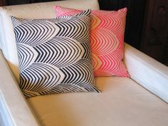 neon pillow. yes please.