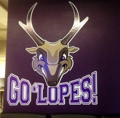 Lope's Up at Grand Canyon University !