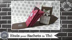 """Vidéo-Tuto """"Etuis à Sachets de Thé"""" par Coul'Heure Papier"""