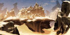 Desert City by axl99.deviantart.com on @DeviantArt