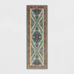 "Free shipping on orders of $35+ from Target. Read reviews and buy 2'3""X7' Buttercup Diamond Vintage Persian Woven Runner Rug Blue - Opalhouse™ at Target. Get it today with Same Day Delivery, Order Pickup or Drive Up."