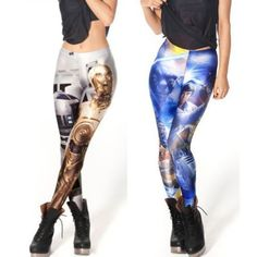 Star Wars Leggings, These ARE the droids you are looking for Which side are you on Comes in two styles Jedi vs Sith Droids