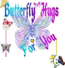 Sending some hugs on the wings of a butterfly! Thank you so much my lovely Grace. Butterfly Images, Butterfly Kisses, Butterfly Flowers, Butterfly Wings, Butterflies, Butterfly Quotes, Purple Flowers, I Need Your Hug, Love Hug