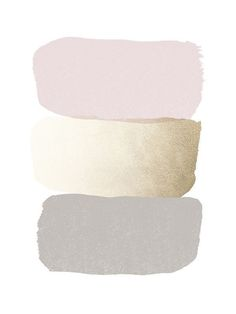light grey - pink - gold #colors