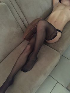 """yes, that is a """"boy"""" wearing thigh high stockings...what of it?"""