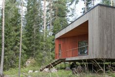 Muuraiskallio Cabin | Woodarchitecture.fi