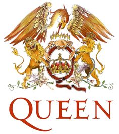 Queen are a British rock band formed in London in originally consisting of Freddie Mercury, Brian May, John Deacon, and Roger Taylor. Is Queen - Bohe Queen Freddie Mercury, Blues Rock, Great Bands, Cool Bands, Queen Logo, Queen Banda, Mercury Facts, Bryan May, Band Stickers