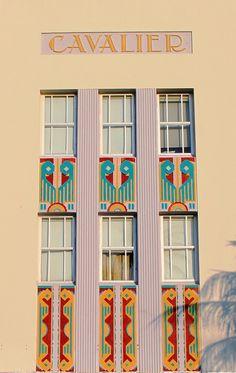 Art Deco - Cavalier Hotel So Be - Miami by emgipics, via Flickr