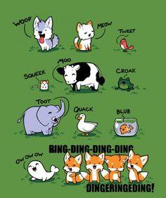 Was sagt der Fuchs?