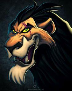 Scar is my favorite Disney villain ever! Images Disney, Art Disney, Film Disney, Disney Love, Disney Pixar, Disney Dudes, Disney Pictures, Disney Stuff, Hakuna Matata