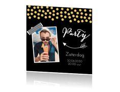 Uitnodigingskaart met eigen foto