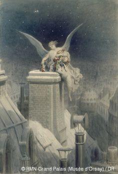 Gustave Doré,La nuit de Noël,© RMN-Grand Palais (Musée d'Orsay) / DR