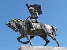 https://flic.kr/p/6aGMkN | Luján, monumento al General Manuel Belgrano | Monumento al general Manuel Belgrano, emplazado en la plaza que lleva su mismo nombre. Luján - Provincia de Buenos Aires - ARGENTINA: